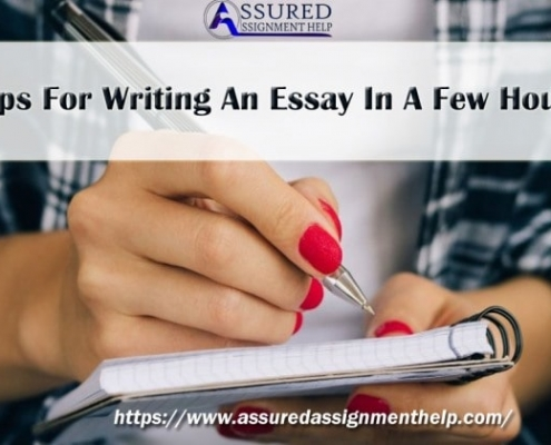 Tips For Writing An Essay In A Few Hours