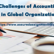 Challenges of Accounting in Global Organizations