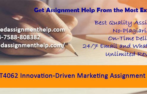 MKT4062 Innovation-Driven Marketing