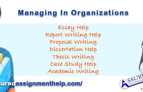 Managing In Organizations