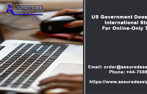 US Government Does Not Permit International Students For Online-Only Tuition